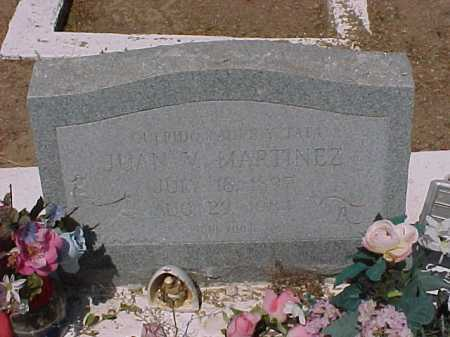 MARTINEZ, JUAN V. - Gila County, Arizona | JUAN V. MARTINEZ - Arizona Gravestone Photos