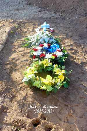 MARTINEZ, JOSE V. - Gila County, Arizona | JOSE V. MARTINEZ - Arizona Gravestone Photos