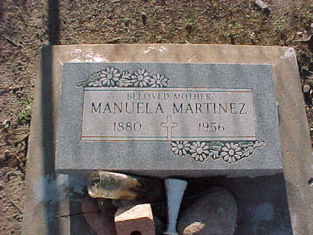 MARTINEZ, MANUELA - Gila County, Arizona | MANUELA MARTINEZ - Arizona Gravestone Photos