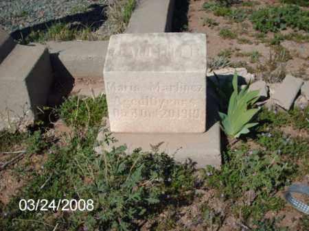 MARTINEZ, MARIA - Gila County, Arizona | MARIA MARTINEZ - Arizona Gravestone Photos