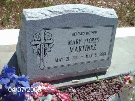 MARTINEZ, MARY FLORES - Gila County, Arizona   MARY FLORES MARTINEZ - Arizona Gravestone Photos