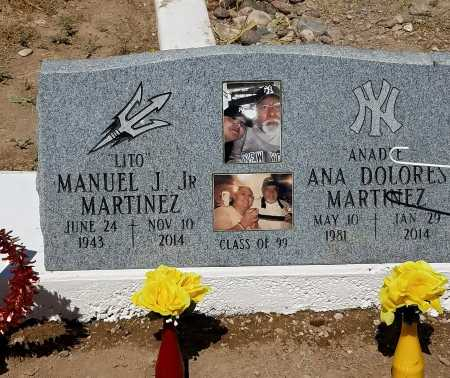 "MARTINEZ, MANUEL JUAN ""LITO"" - Gila County, Arizona 