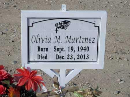 MARTINEZ, OLIVIA M. - Gila County, Arizona   OLIVIA M. MARTINEZ - Arizona Gravestone Photos