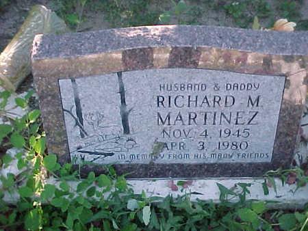 MARTINEZ, RICHARD  M. - Gila County, Arizona | RICHARD  M. MARTINEZ - Arizona Gravestone Photos