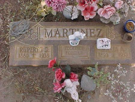 MARTINEZ, RUPERTO  G. - Gila County, Arizona   RUPERTO  G. MARTINEZ - Arizona Gravestone Photos