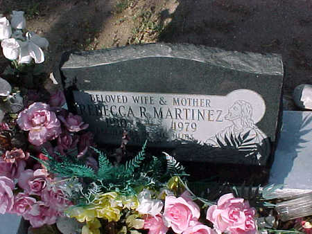 MARTINEZ, REBECCA  R. - Gila County, Arizona | REBECCA  R. MARTINEZ - Arizona Gravestone Photos