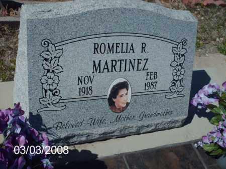 MARTINEZ, ROMELIA - Gila County, Arizona | ROMELIA MARTINEZ - Arizona Gravestone Photos
