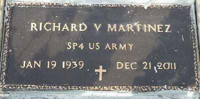 "MARTINEZ, RICHARD  V. ""RICHIE"" - Gila County, Arizona | RICHARD  V. ""RICHIE"" MARTINEZ - Arizona Gravestone Photos"