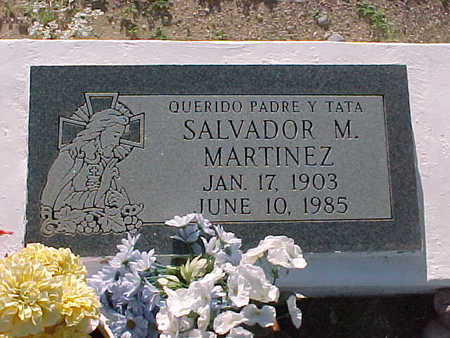 MARTINEZ, SALVADOR  M. - Gila County, Arizona | SALVADOR  M. MARTINEZ - Arizona Gravestone Photos