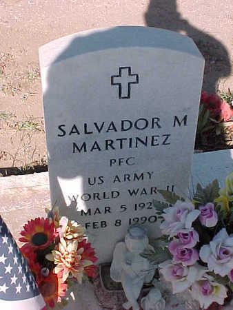 MARTINEZ, SALVADOR M. - Gila County, Arizona   SALVADOR M. MARTINEZ - Arizona Gravestone Photos