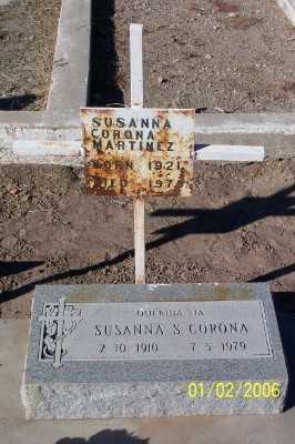 MARTINEZ, SUSANNA  CORONA - Gila County, Arizona | SUSANNA  CORONA MARTINEZ - Arizona Gravestone Photos