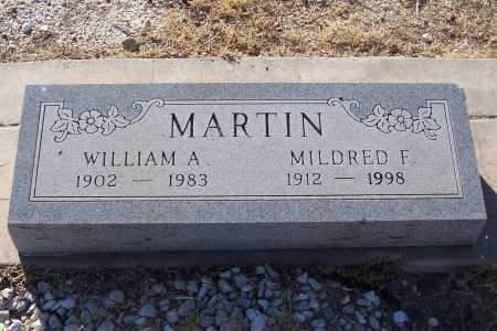MARTIN, MILDRED F. - Gila County, Arizona   MILDRED F. MARTIN - Arizona Gravestone Photos