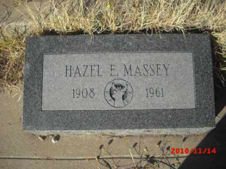 MASSEY, HAZEL E. - Gila County, Arizona | HAZEL E. MASSEY - Arizona Gravestone Photos