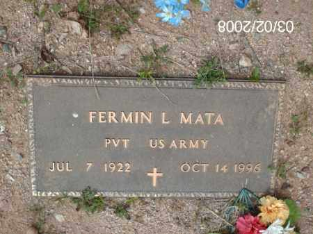 MATA, FERMIN - Gila County, Arizona | FERMIN MATA - Arizona Gravestone Photos