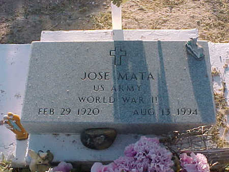 MATA, JOSE - Gila County, Arizona   JOSE MATA - Arizona Gravestone Photos