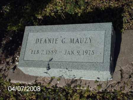 MAUZY, DEANIE G. - Gila County, Arizona   DEANIE G. MAUZY - Arizona Gravestone Photos