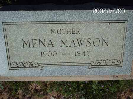 MAWSON, MENA - Gila County, Arizona | MENA MAWSON - Arizona Gravestone Photos
