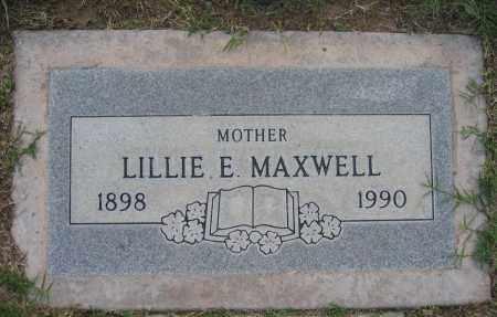 MAXWELL, LILLIE - Gila County, Arizona | LILLIE MAXWELL - Arizona Gravestone Photos