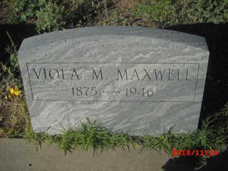 MAXWELL, VIOLA M. - Gila County, Arizona   VIOLA M. MAXWELL - Arizona Gravestone Photos