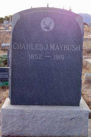 MAYBUSH, CHARLES J. - Gila County, Arizona   CHARLES J. MAYBUSH - Arizona Gravestone Photos