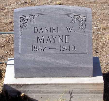MAYNE, DANIEL W. - Gila County, Arizona | DANIEL W. MAYNE - Arizona Gravestone Photos