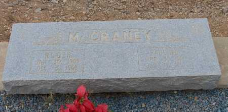 MC CRANEY, PAULINE - Gila County, Arizona | PAULINE MC CRANEY - Arizona Gravestone Photos