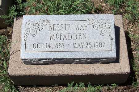 MC FADDEN, BESSIE MAY - Gila County, Arizona | BESSIE MAY MC FADDEN - Arizona Gravestone Photos
