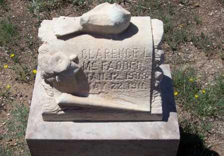 MC FADDEN, CLARENCE L. - Gila County, Arizona | CLARENCE L. MC FADDEN - Arizona Gravestone Photos