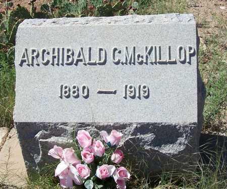 MC KILLOP, ARCHIBALD C. - Gila County, Arizona | ARCHIBALD C. MC KILLOP - Arizona Gravestone Photos
