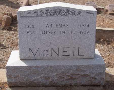 MC NEIL, ARTEMAS - Gila County, Arizona | ARTEMAS MC NEIL - Arizona Gravestone Photos