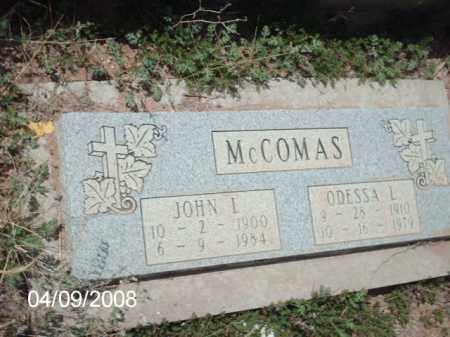 MCCOMAS, JOHN L. - Gila County, Arizona | JOHN L. MCCOMAS - Arizona Gravestone Photos