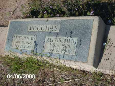 MCCOMAS, STEPHEN W. - Gila County, Arizona | STEPHEN W. MCCOMAS - Arizona Gravestone Photos