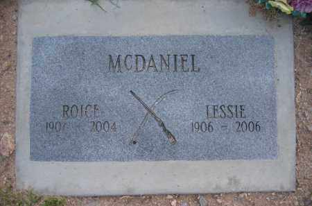 MCDANIEL, ROICE - Gila County, Arizona   ROICE MCDANIEL - Arizona Gravestone Photos