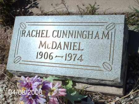 MCDANIEL, RACHEL CUNNINGHAM - Gila County, Arizona | RACHEL CUNNINGHAM MCDANIEL - Arizona Gravestone Photos