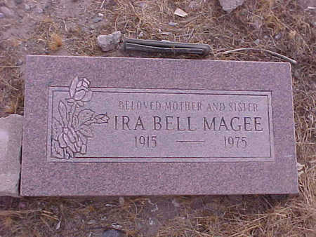 MCGEE, IRA BELL - Gila County, Arizona | IRA BELL MCGEE - Arizona Gravestone Photos
