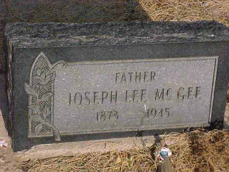 MCGEE, JOSEPH  LEE - Gila County, Arizona | JOSEPH  LEE MCGEE - Arizona Gravestone Photos
