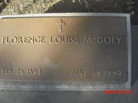 MCGOEY, FLORENCE - Gila County, Arizona | FLORENCE MCGOEY - Arizona Gravestone Photos