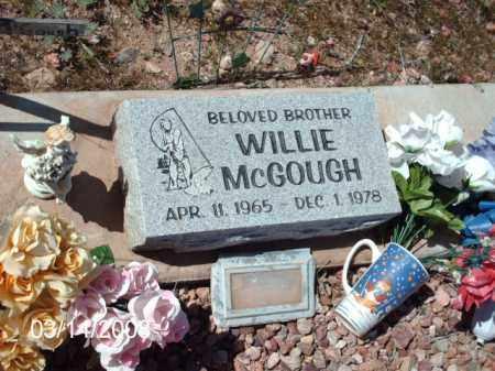 MCGOUGH, WILLIE - Gila County, Arizona | WILLIE MCGOUGH - Arizona Gravestone Photos