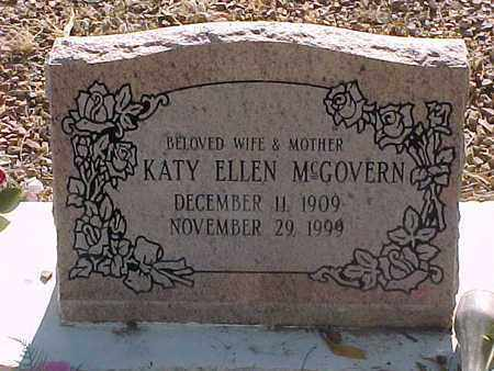 MCGOVERN, KATY ELLEN - Gila County, Arizona   KATY ELLEN MCGOVERN - Arizona Gravestone Photos