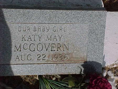 MCGOVERN, KATY  MAY - Gila County, Arizona | KATY  MAY MCGOVERN - Arizona Gravestone Photos