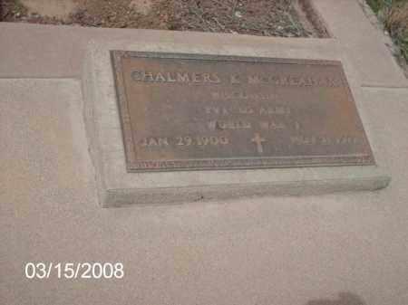 MCGREAHAM, CHALMERS - Gila County, Arizona | CHALMERS MCGREAHAM - Arizona Gravestone Photos