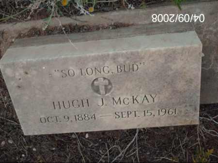 MCKAY, HUGH J. - Gila County, Arizona | HUGH J. MCKAY - Arizona Gravestone Photos