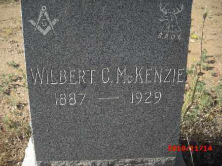 MCKENZIE, WILBERT C. - Gila County, Arizona | WILBERT C. MCKENZIE - Arizona Gravestone Photos