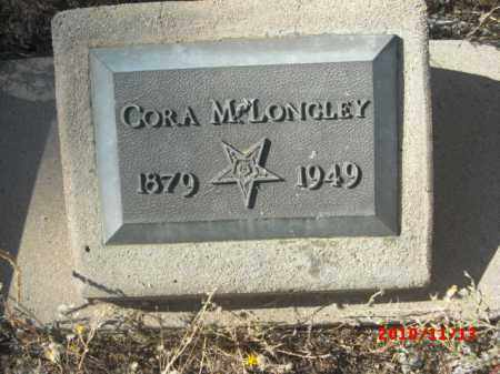 MCLONGLEY, CORA - Gila County, Arizona | CORA MCLONGLEY - Arizona Gravestone Photos