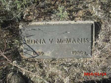 MCMANIS, EDNA - Gila County, Arizona | EDNA MCMANIS - Arizona Gravestone Photos