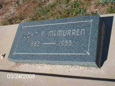 MCMURREN, JOHN - Gila County, Arizona   JOHN MCMURREN - Arizona Gravestone Photos