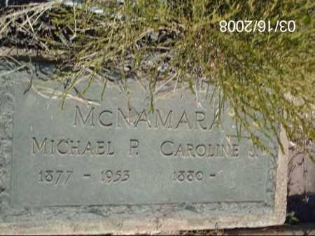 MCNAMARA, MICHAEL - Gila County, Arizona | MICHAEL MCNAMARA - Arizona Gravestone Photos