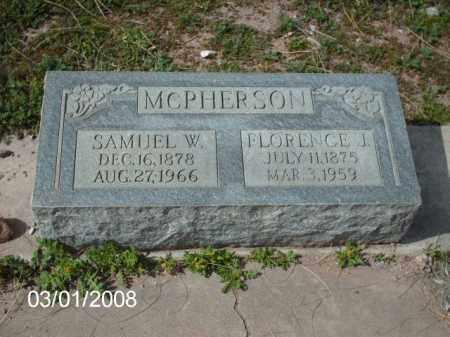 MCPHERSON, SAMUEL - Gila County, Arizona | SAMUEL MCPHERSON - Arizona Gravestone Photos