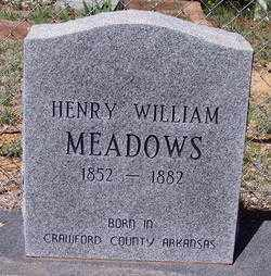 MEADOWS, HENRY WILLIAM - Gila County, Arizona   HENRY WILLIAM MEADOWS - Arizona Gravestone Photos