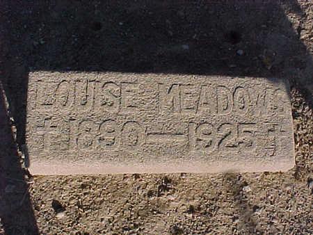 "MEADOWS, LUISA  ""LOUISE"" - Gila County, Arizona | LUISA  ""LOUISE"" MEADOWS - Arizona Gravestone Photos"